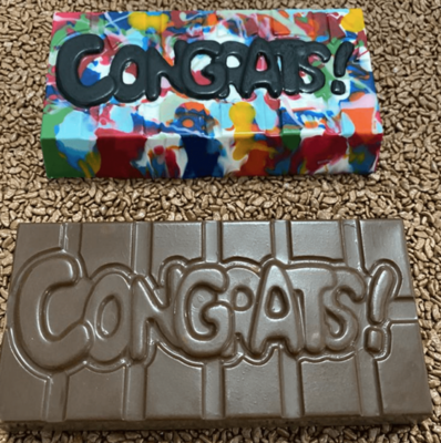 Congrats Tablet - 3 Part Mold - PRE-ORDER - Arriving end of January