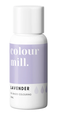 Oil Based Colouring 20ml Lavender - Color Mill