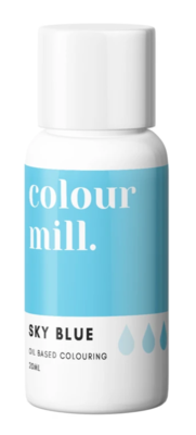Oil Based Colouring 20ml Sky Blue - Color Mill
