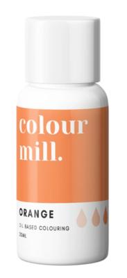 Oil Based Colouring 20ml Orange - Color Mill