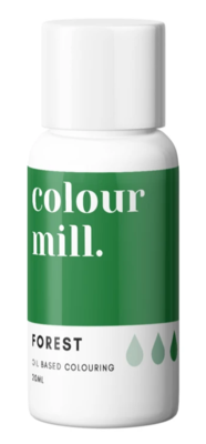 Oil Based Colouring 20ml Forest Green - Color Mill