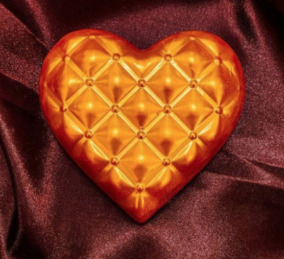 Detailed Heart - 350g - 3 Part Mold - PRE-ORDER - Arriving Feb. 5
