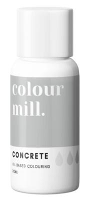 Oil Based Colouring 20ml Concrete - Color Mill