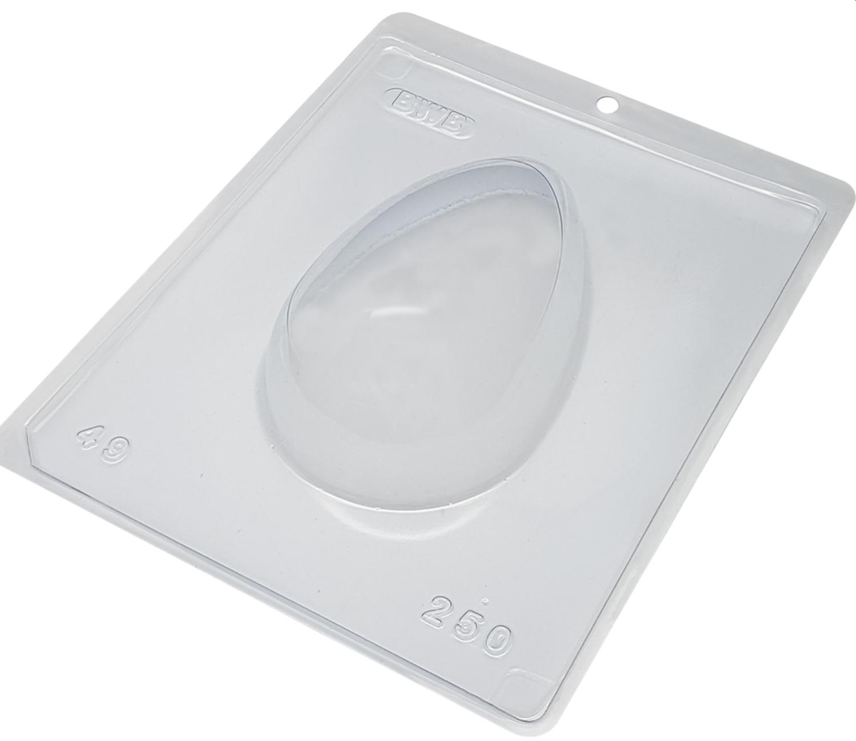 Plain Egg 250g - 3 Part Mold