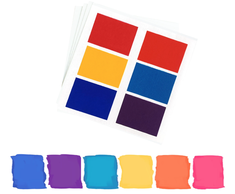 PYO Paint Palettes - Brights