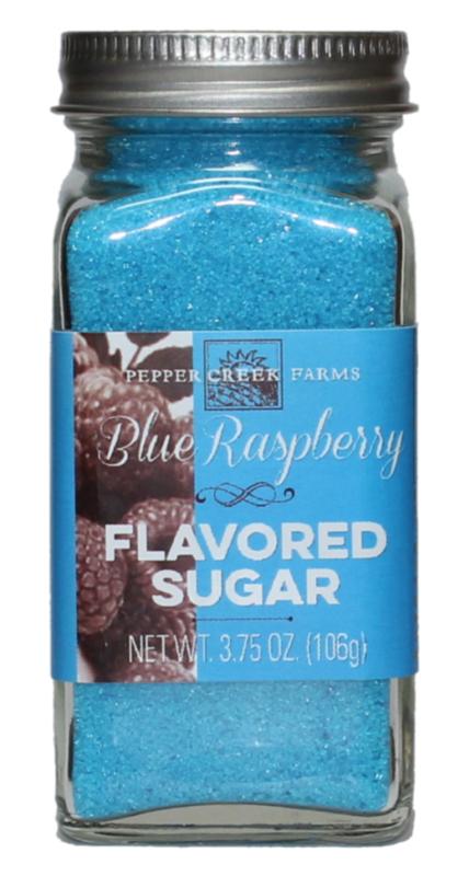 Blue Raspberry Flavoured Sugar - 3.75 oz
