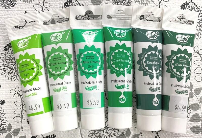 Set of 6 Green Progels - Save $8.39!