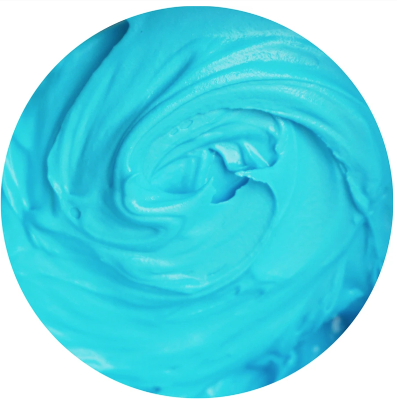 Cookie Countess Gel Icing Color 2oz - Neon Bright Blue