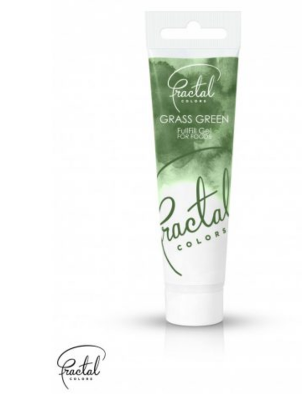 Grass Green Food Gel Coloring by Fractal Colors