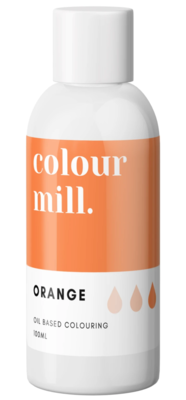 Oil Based Colouring 100ml Orange - Color Mill