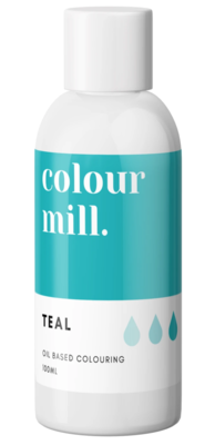 Oil Based Colouring 100ml Teal - Color Mill