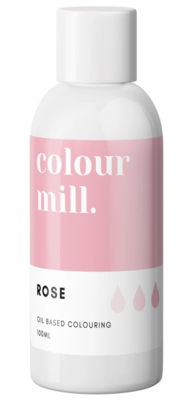 Oil Based Colouring 100ml Rose - Color Mill
