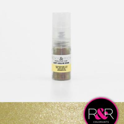 Roxy & Rich Soft Gold Sparkle Dust - 4g Pump
