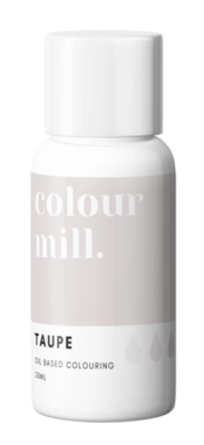 Oil Based Colouring 20ml Taupe - Color Mill