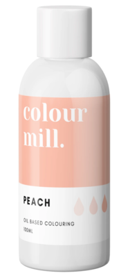 Oil Based Colouring 100ml Peach - Color Mill