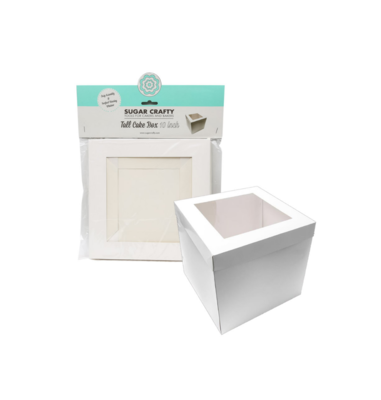 TALL CAKE BOX WITH WINDOW - 10 INCH