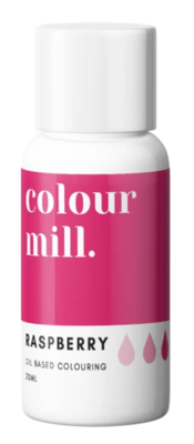 Oil Based Colouring 20ml Raspberry - Color Mill