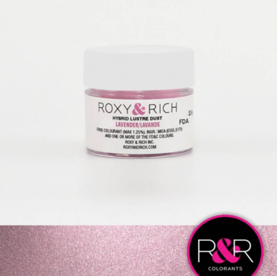 Lavender Edible Lustre Dust 2.5 grams by Roxy & Rich