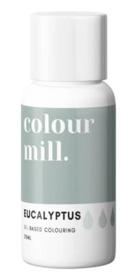 Oil Based Colouring 20ml Eucalyptus - Color Mill