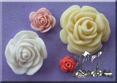 Roses 4 in 1 Mould