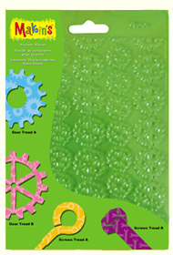 Impression Mat Set - Sprockets and Gears