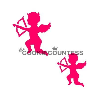 Cupids Stencil by Cookie Countess