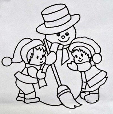 Patchwork Cutters - Snowman
