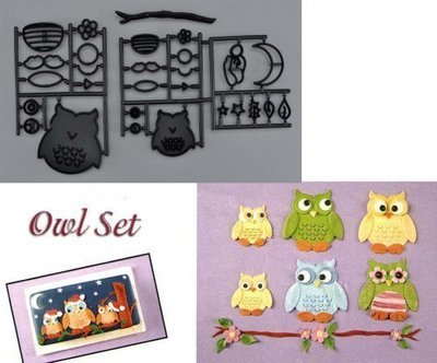 Patchwork Cutters - Owl Set