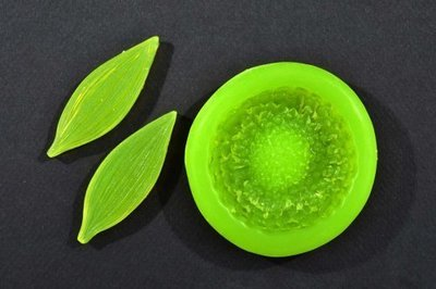 Sunflower Petal Veiner & Center Mould