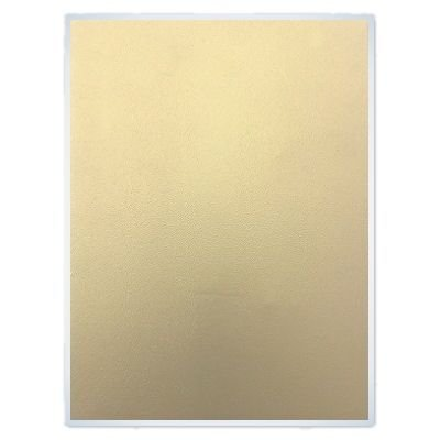 FlexFrost Gold Edible Fabric Shimmer Sheets - 6 Sheets