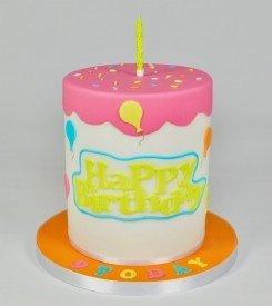 FMM Curved Words - Happy Birthday