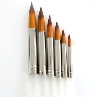 Round Tip Brush Set - 6 Pack