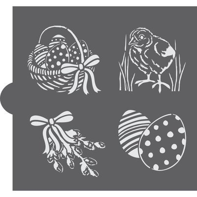 Easter Palette Basic Accent Stencil