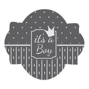 It's A Boy Stencil Set - 5 PC