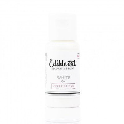 WHITE - Edible Art Paint 15 ml  BB 02/21