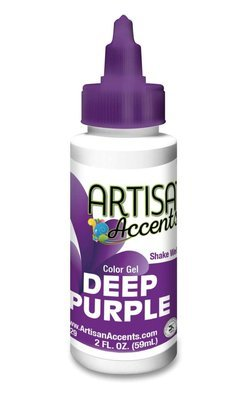 Deep Purple - Artisan Accents Gel Color