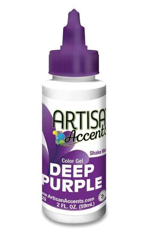 Deep Purple - Artisan Accents Gel Color