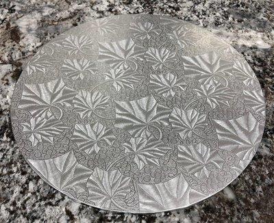 Silver Cake Board - 10