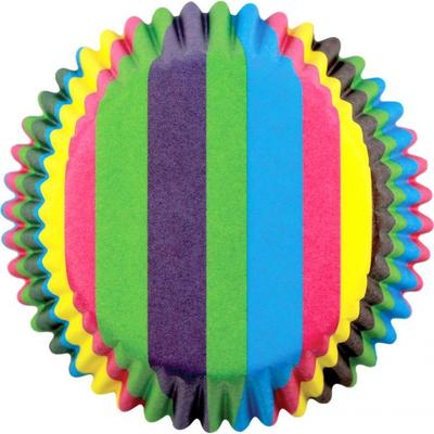 Rainbow Stripes - Standard Baking Cases