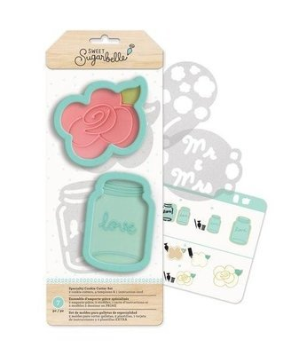 Sweet Sugarbelle Country Rose Cookie Cutter Set