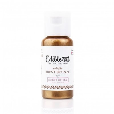 METALLIC BURNT BRONZE - Edible Art Paint 15 ml