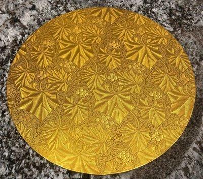 Gold Cake Board - 12