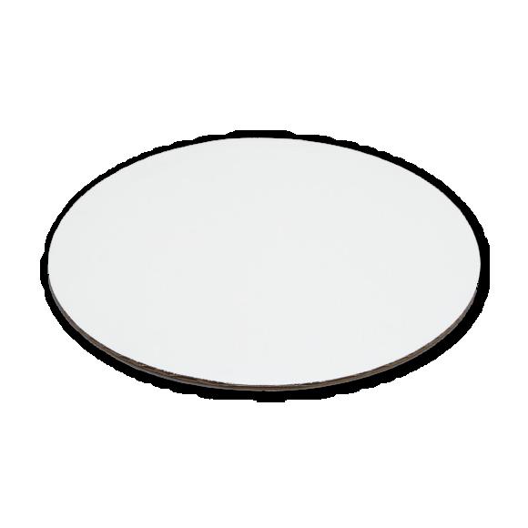 """6""""  White Round Cake Pad"""