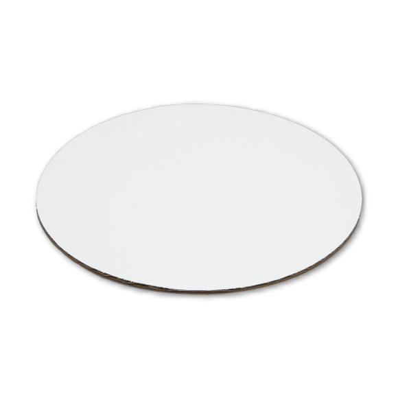 """12"""" White Round Cake Pad"""