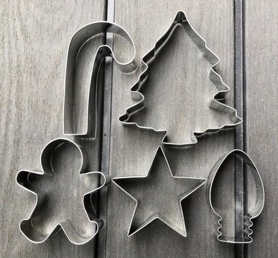 Christmas Set of Cookie Cutters