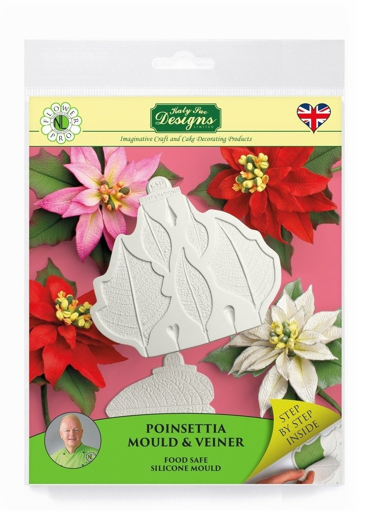 Flower Pro Poinsettia Mold & Veiner