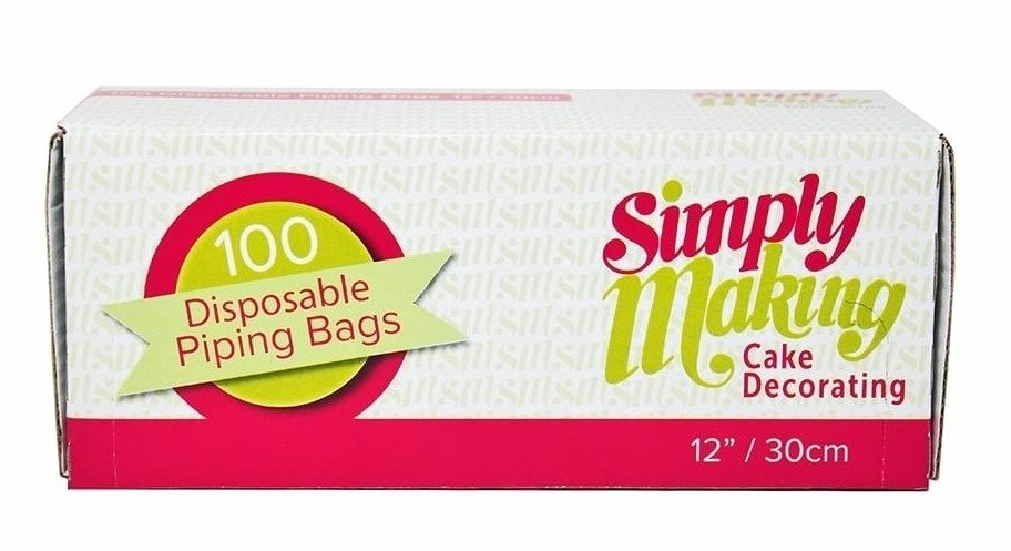 """Simply Making Roll of 100 Piping Bags - 12"""""""
