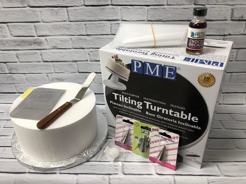 Buttercream & Piping Cake Decorating Kit