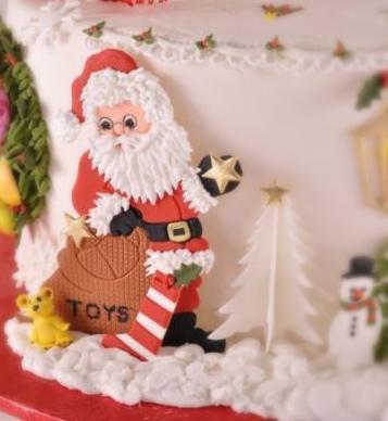 Patchwork Cutters - Santa