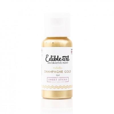 METALLIC CHAMPAGNE GOLD - Edible Art Paint 15 ml
